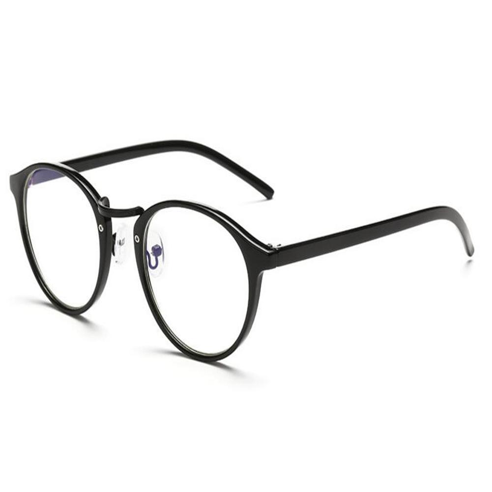 Runden Rahmen Anti-Strahlung Computer Brille Blaues Licht Herren ...