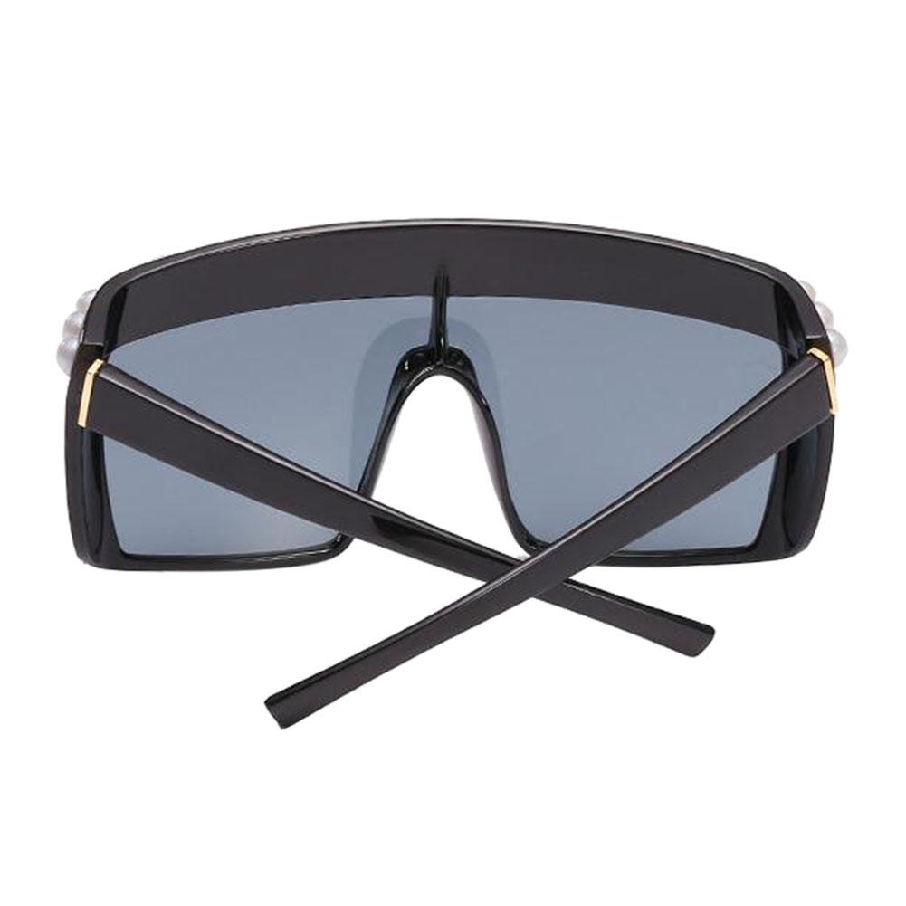 Großer quadratischer Rahmen Frau Sonnenbrille V-Schutz Polarized ...