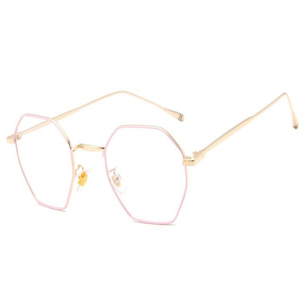 Mode Metall Brille Rahmen Vintage Optische Gläser für Damen Herren ...