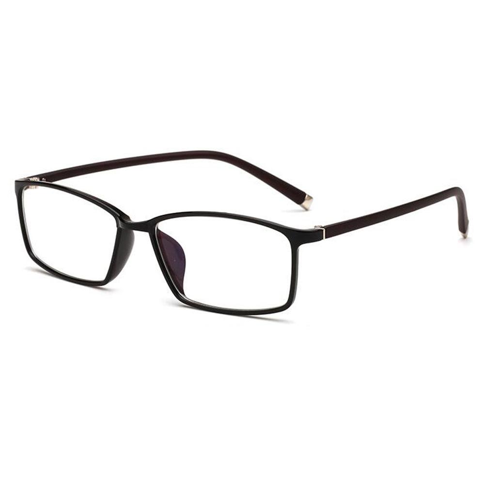 UK Retro Rectangle Frame Glasses Clear Lens UV Optical glasses ...