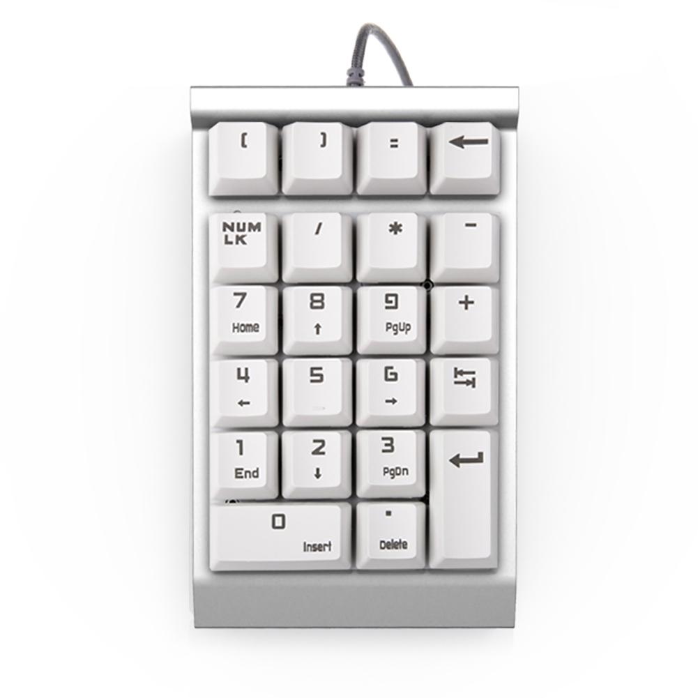 Blue Swich Usb Numeric Keypad Number Pad 22 Keys Keyboard For Laptop