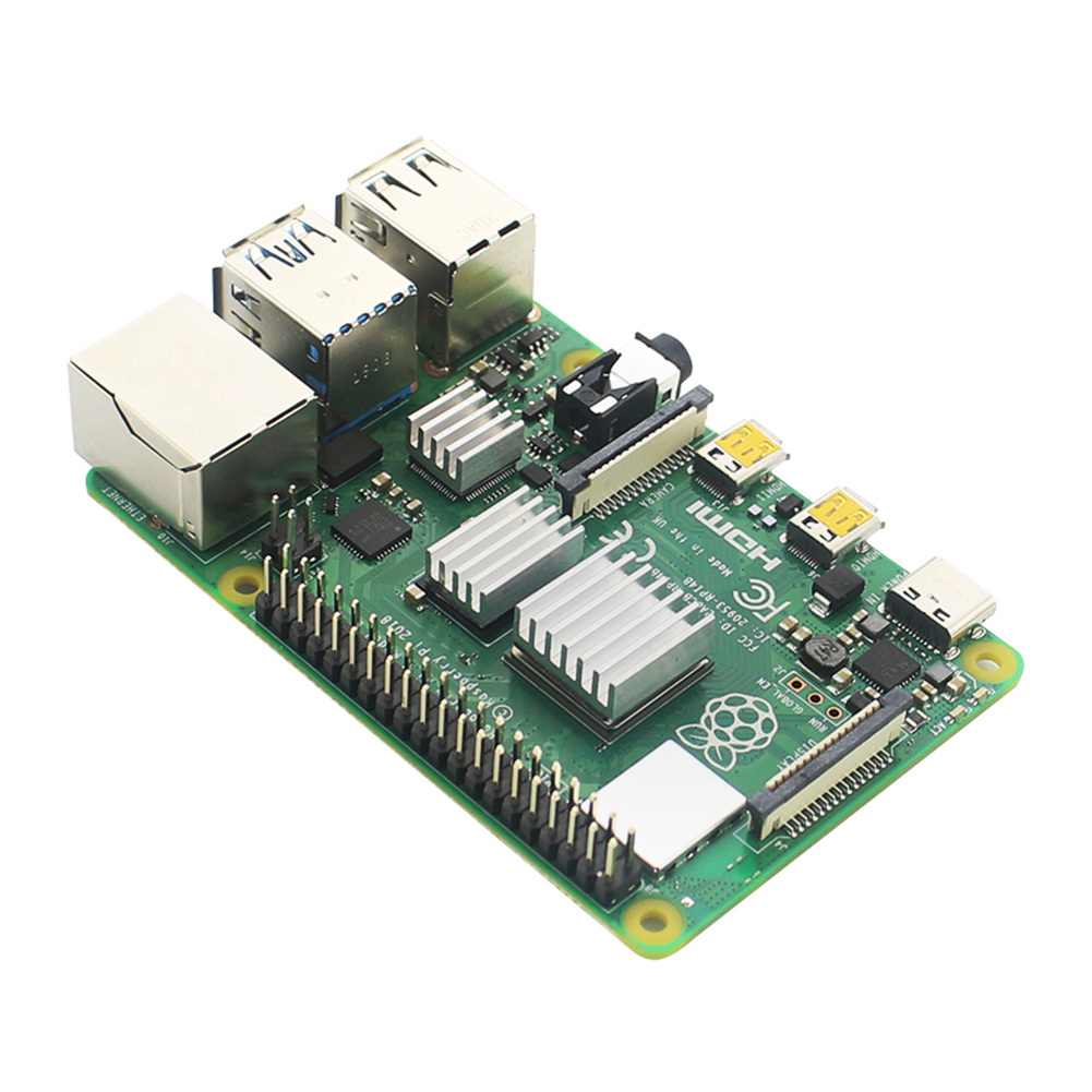 3 Pcs Xingsiyue Aluminum Heatsinks for Raspberry Pi 4B Cooling Shims Cooler Pad with Thermal Conductive Adhesive Tape