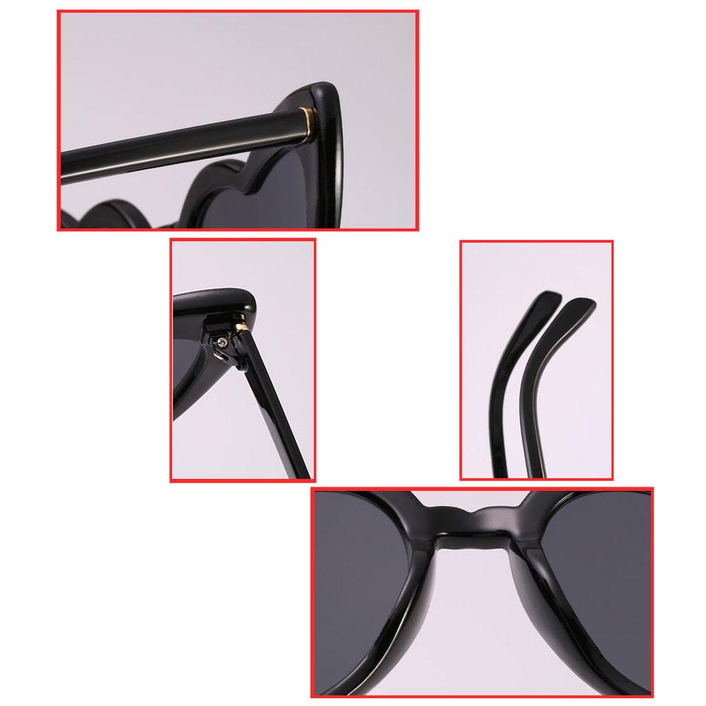a8302e6f11 Women Cat Eye Heart Shaped Sunglasses UV Protection Polarized Eyewear  Goggles