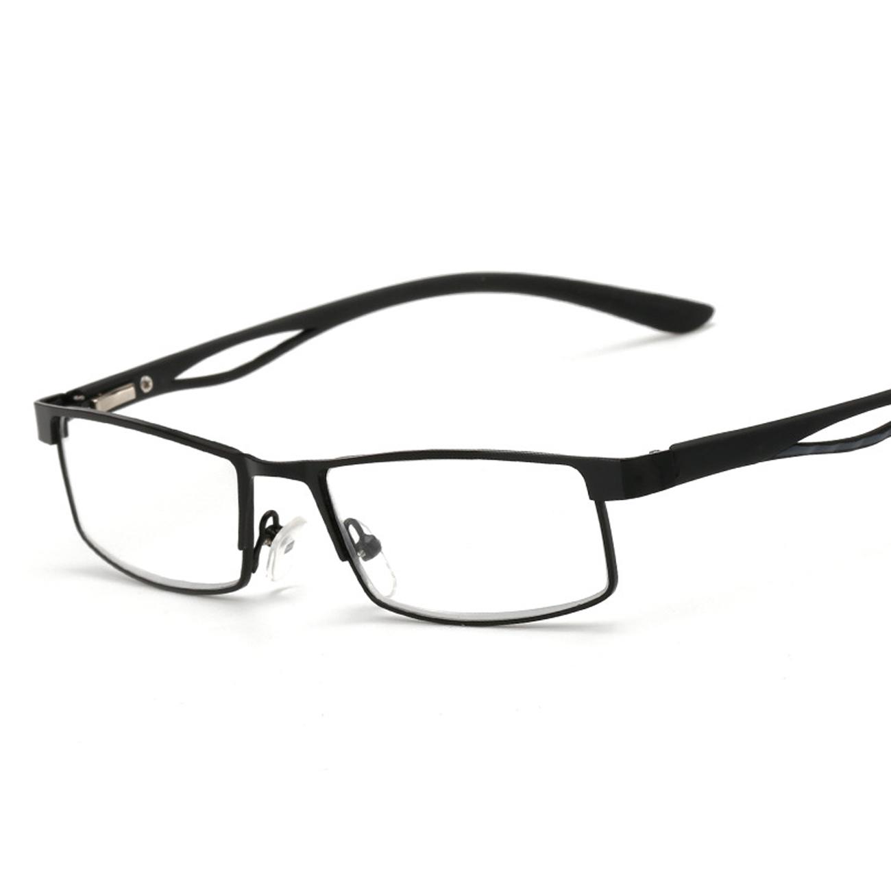 ESquare Old man reading glasses Metal full frame Glasses intensity ...