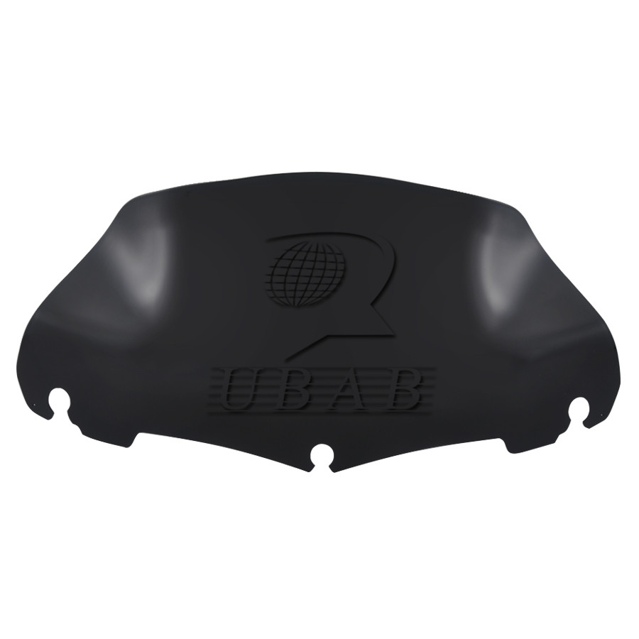 Black ABS windscreen windsheild for Harley Electra Street Glide Touring 14-16