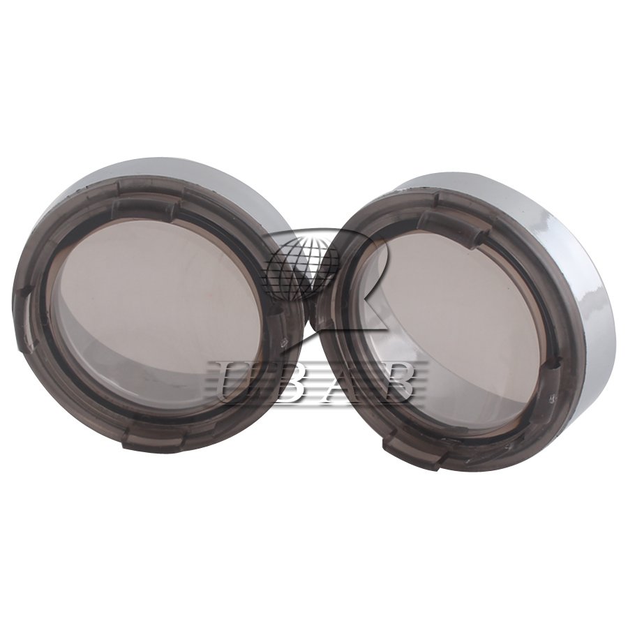 2pcs Turn Signal Light Lens Cover For Harley Touring Road