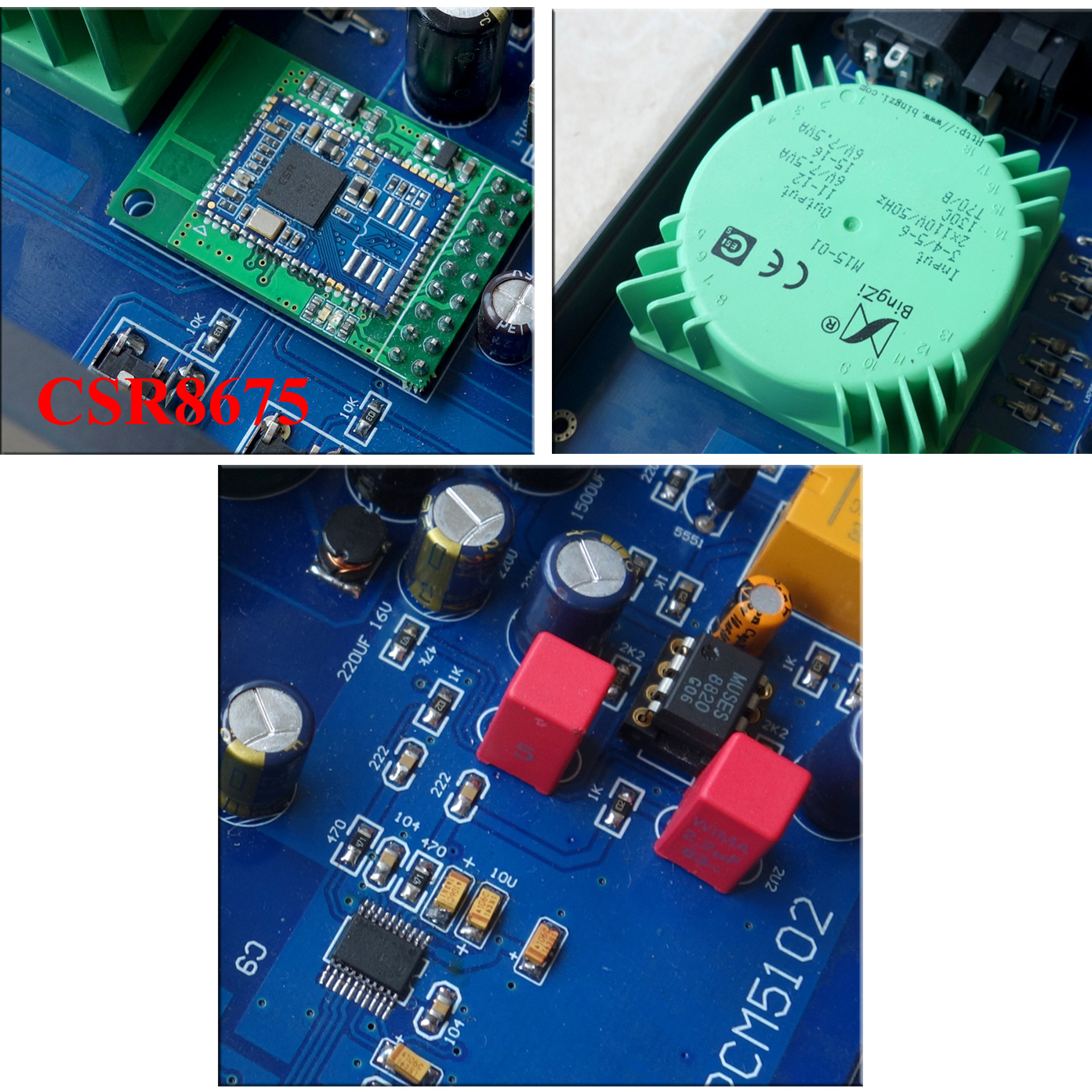 Active Sny-30a Csr8675 Bluetooth 5.0 Pcm5102 Dac Decoder Bluetooth Receiver W/ Linear Power Circuit Back To Search Resultsconsumer Electronics