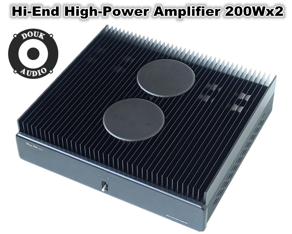 Hi End 2sk170j74 Fet Full Symmetry Stereo Amplifier High Power 250wx2 Hifi Amp