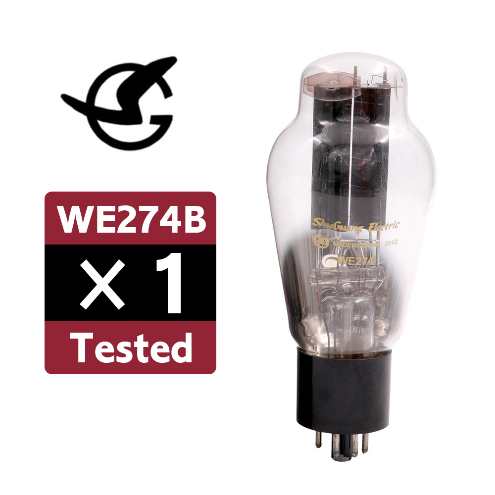 Details about 1PC Shuguang WE274B Tested Rectifier Vacuum Tube Replace 5U4G  5U4GB 5AR4 274B