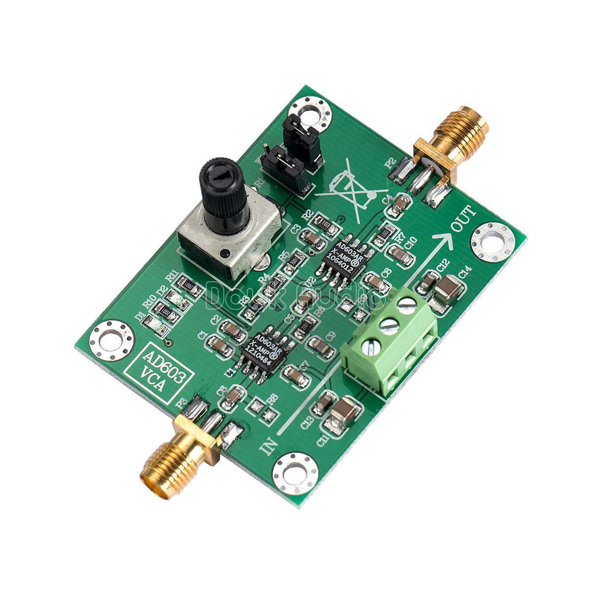 Voltage Controlled Amplifier Circuit Diagram Ssmatters Noninverting Power Tradeoficcom Ad603 Module Variable Gain Vca Control Controlcircuit
