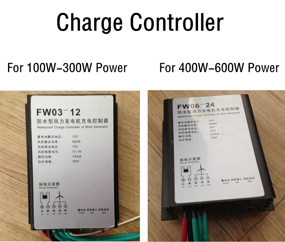 100w 400w Watt Small Wind Turbine Generators 12v 24v 3 5blades Generator Wiring Diagram Charge Controller