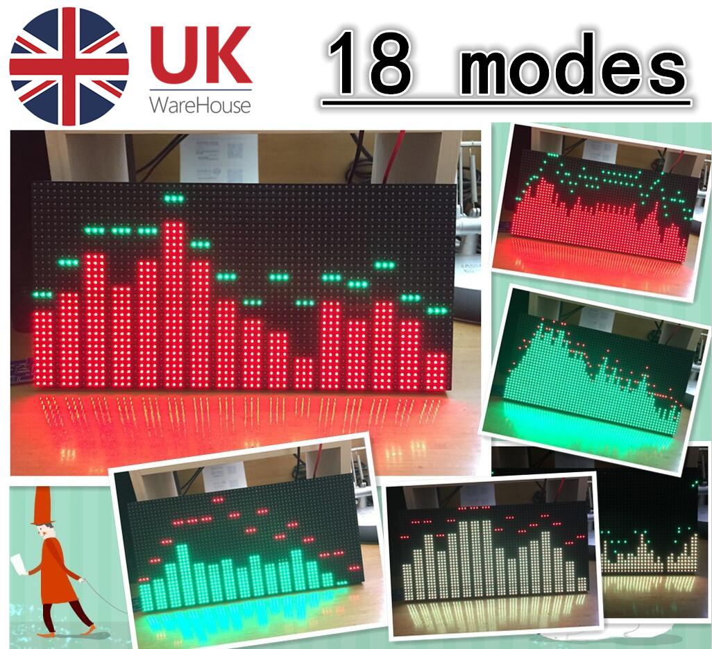 LED Music Audio Spectrum Analyzer Monitor Sound Level VU Meter LM3914 VIDEO !