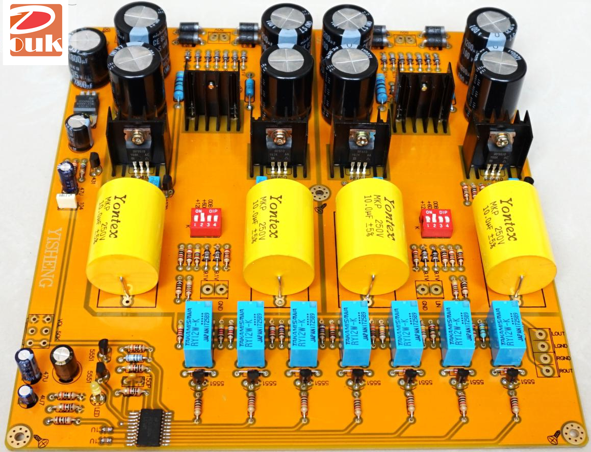 details about pass 2 0 single ended class a hifi preamp mosfet pre amplifier assembled board  audio amp