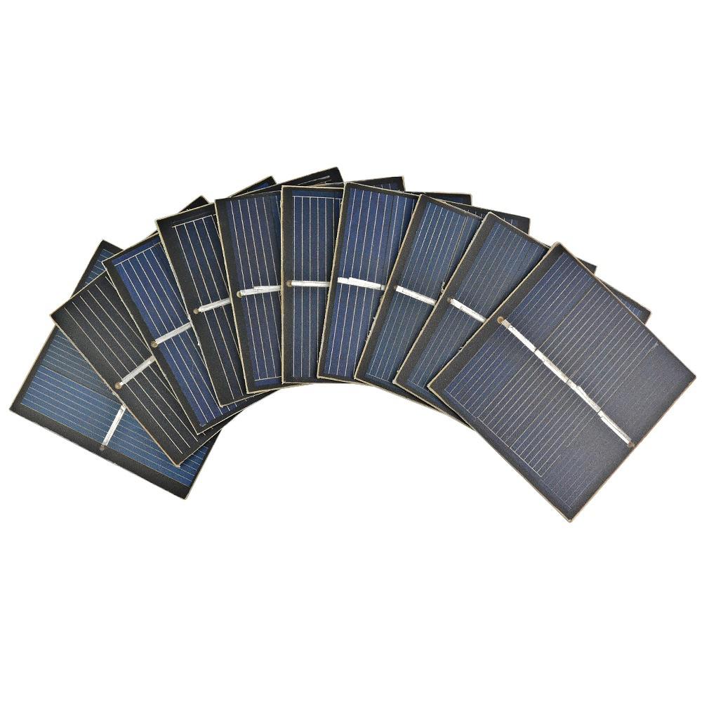 Mini Portable Panneau Solaire À faire soi-même Power Chargeur de Batterie Module A 4 V 55x55mm