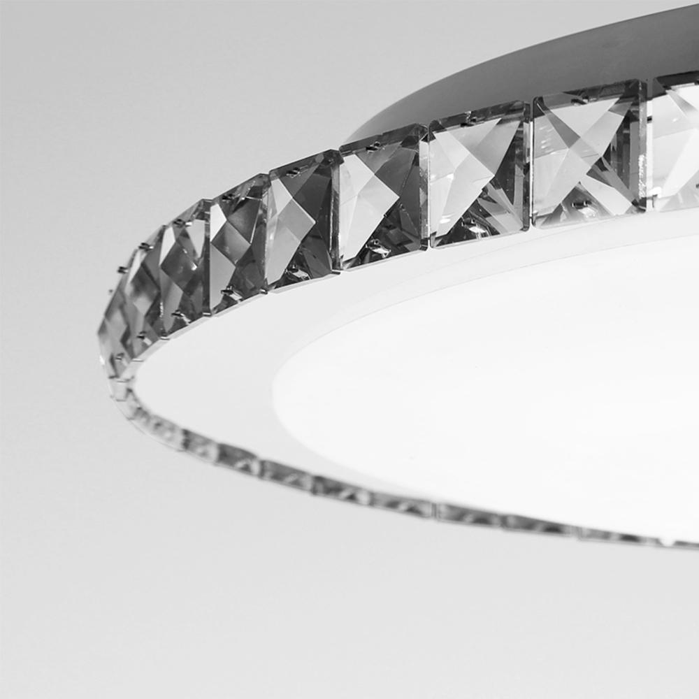 led deckenlampe kalteswei 7w kristall lampen mit flur. Black Bedroom Furniture Sets. Home Design Ideas