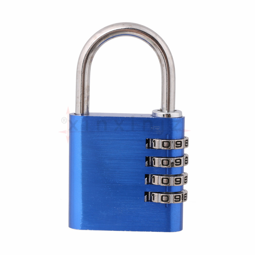 Details about Resettable Combination 4 Digit Number Lock Password Blue