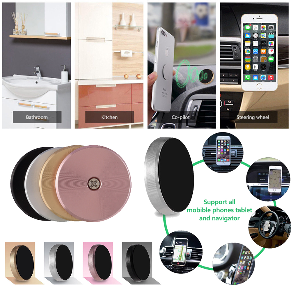 Details Zu Mini Magnetische Auto Phone Halterung Universal Magnet Sticker Handy Halterung