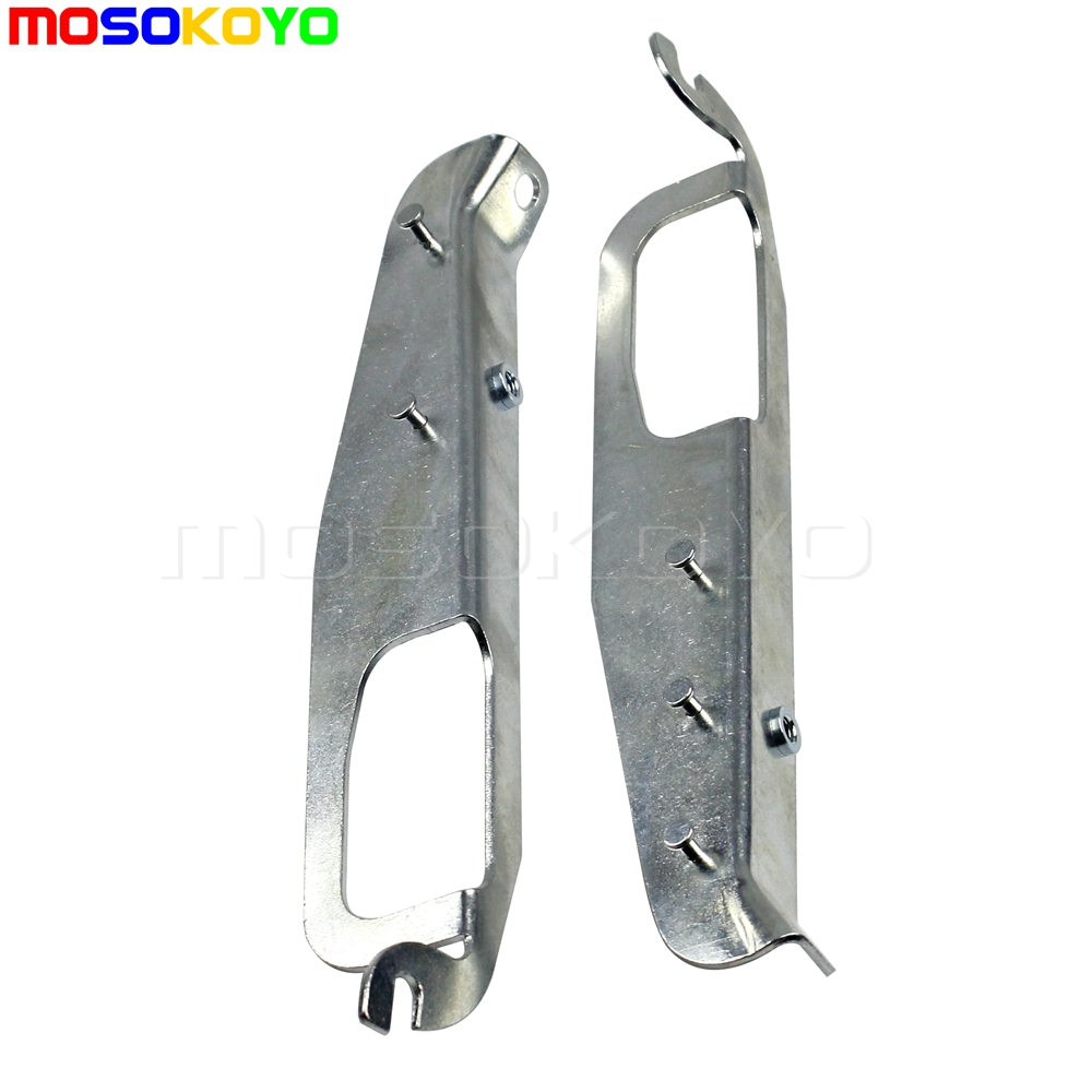Pair Heavy-Duty Inner Fairing Support Brackets For Harley Touring Electra Glide