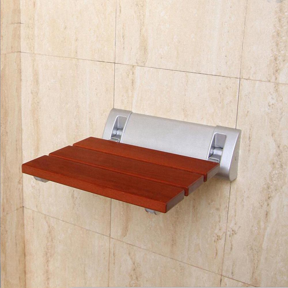 Fold Up 12 Quot Teak Mini Folding Shower Seat Bench Finished