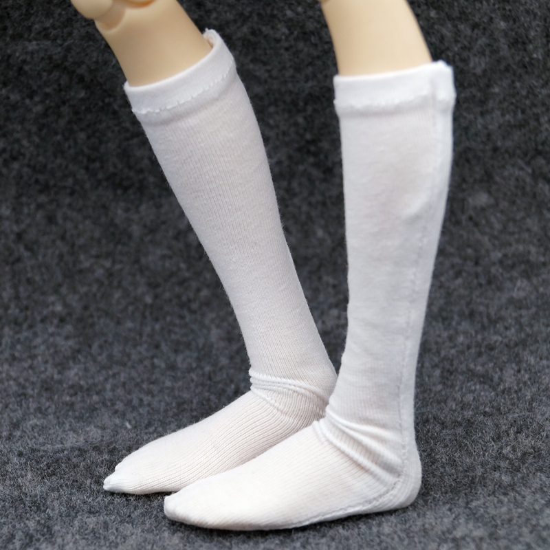 "Black Socks Stocking for 1//4 17/"" 44cm BJD MSD AOD AS VOLKS dollfie"