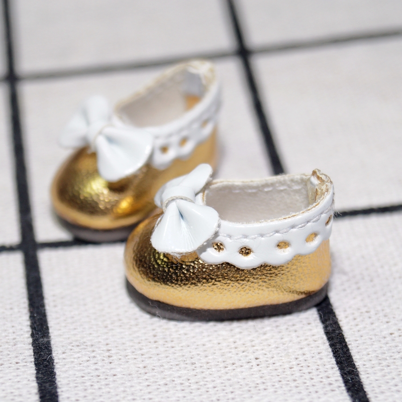 """White Sneakers Shoes Flats Synthetic Leather For 12/"""" TAKARA Neo Blythe Doll"""