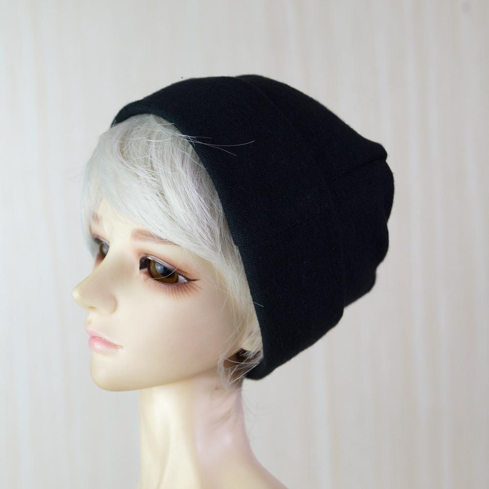 "Grey Beanie Hat Knit For 1//3 24/"" 60cm  Tall BJD SD DK AOD LUTS DIM VOLKS Doll"