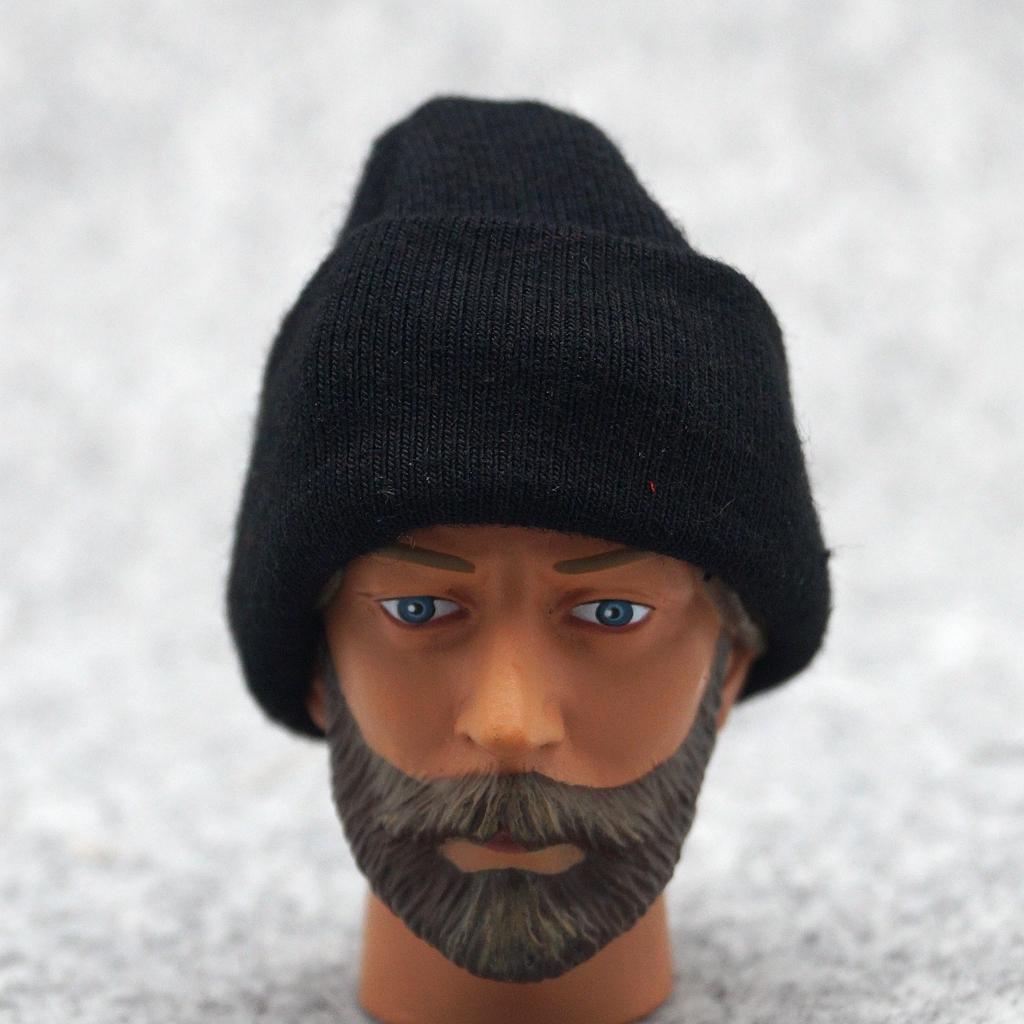 """Black Hip-hop Cap Hat Beanie For 1//6 Scale 12/"""" Action Figure 1:6 Model HT Phicen"""