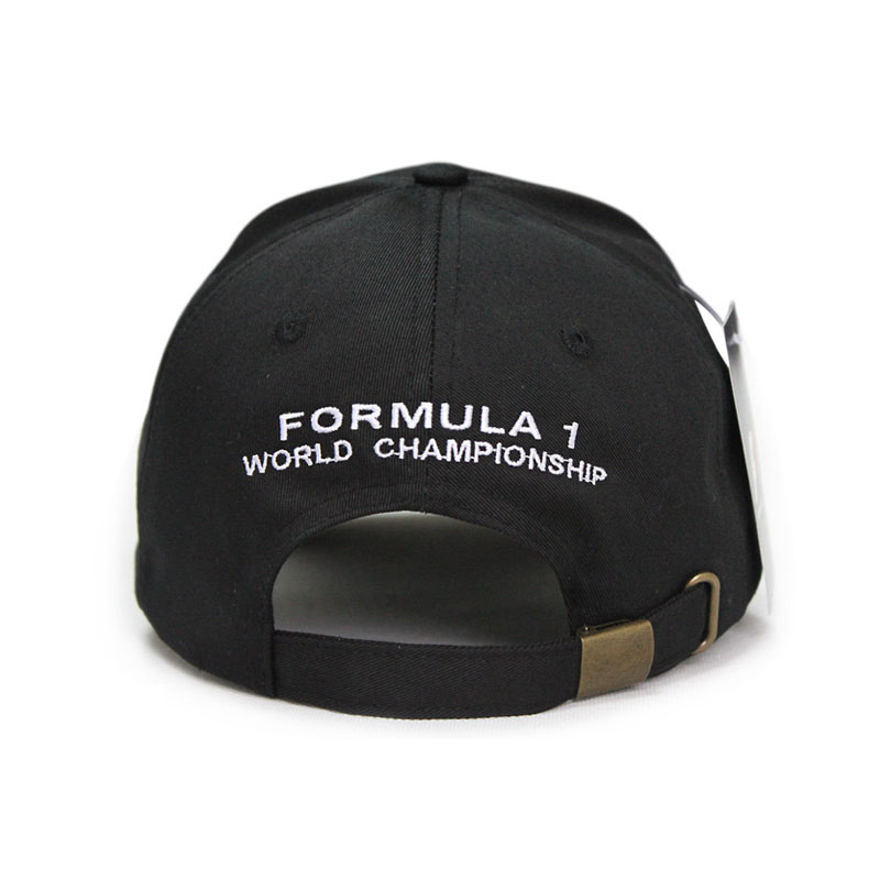 new word championship formula embroidery baseball cap hat racing black mercedes 1 caps cheap