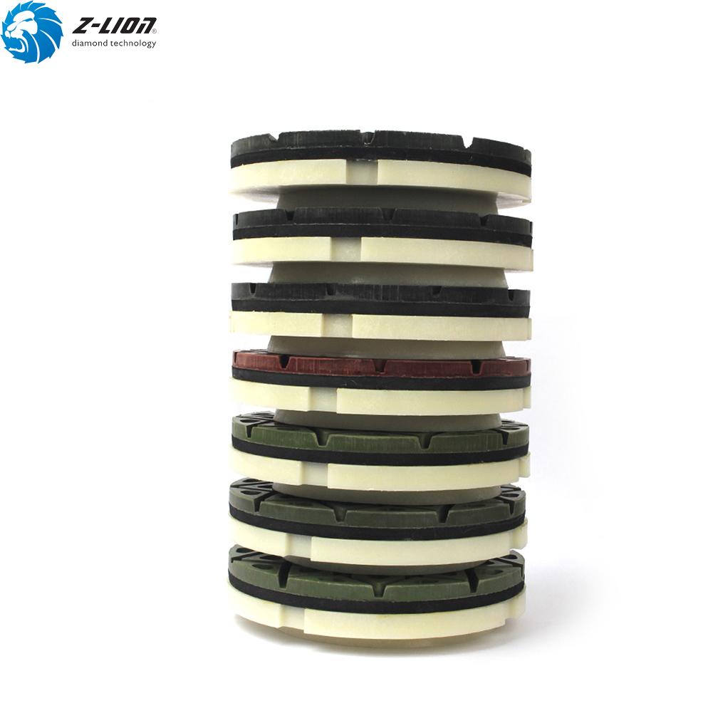 1PC Snail Lock Edge Polishing Pads 5/'/' Abrasive Disc for Concrete Stone Ceramic