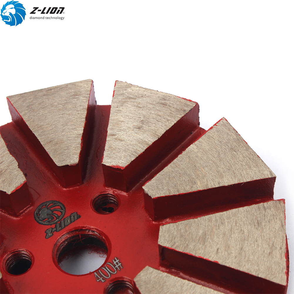 3/'/' Diamond Floor Polishing Pads Grit 400 Metal Bond Grinding Disc Terrazzo Tool