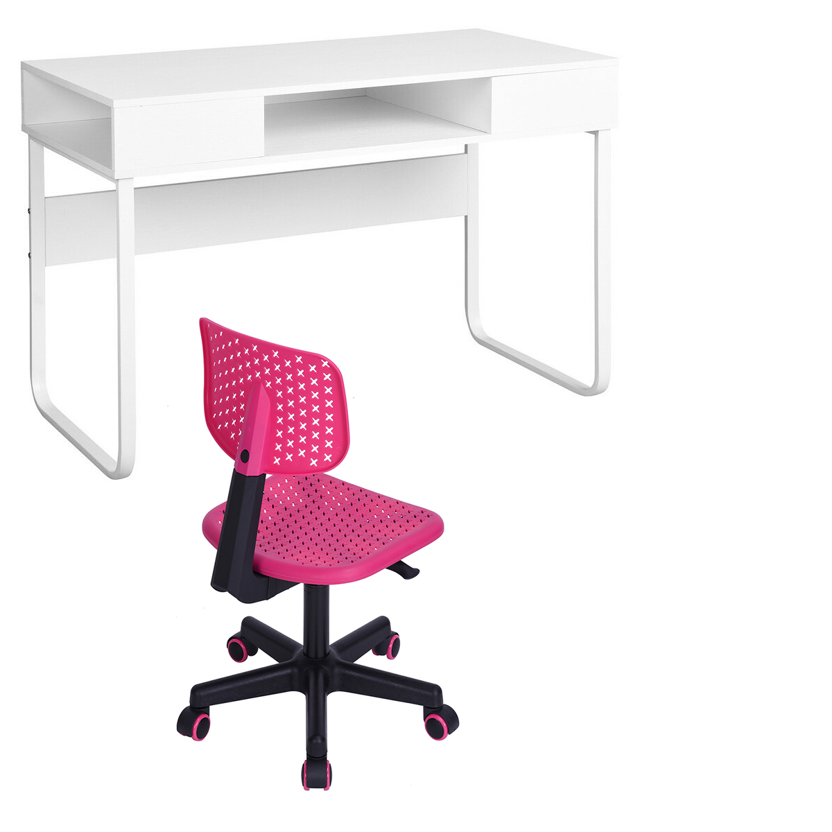 Super Details About Back To School Computer Desk Chair Set Workstation For Kids Students Study Room Ibusinesslaw Wood Chair Design Ideas Ibusinesslaworg