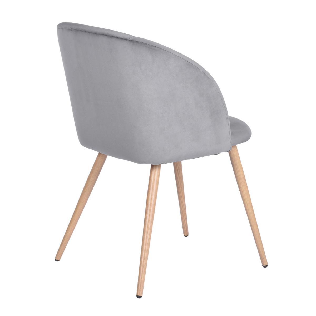 Set Of 2 Velvet Dining Chair Vintage Accent Arm Chiar