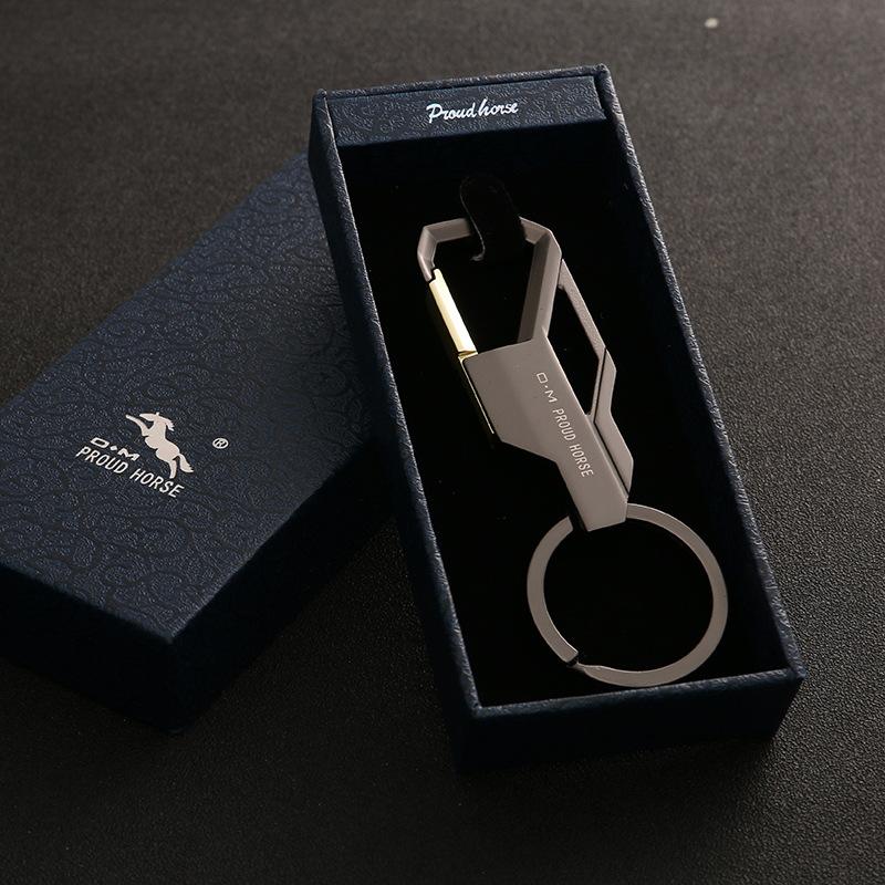 Cool Mens Creative Alloy Metal Keyfob Gift Car Keyring Keychain Key Chain Ring