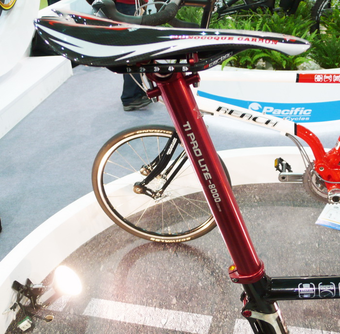 KCNC Ti Pro Lite-8000 Scandium 31.6 x 400mm Mountain Road Bike Seatpost