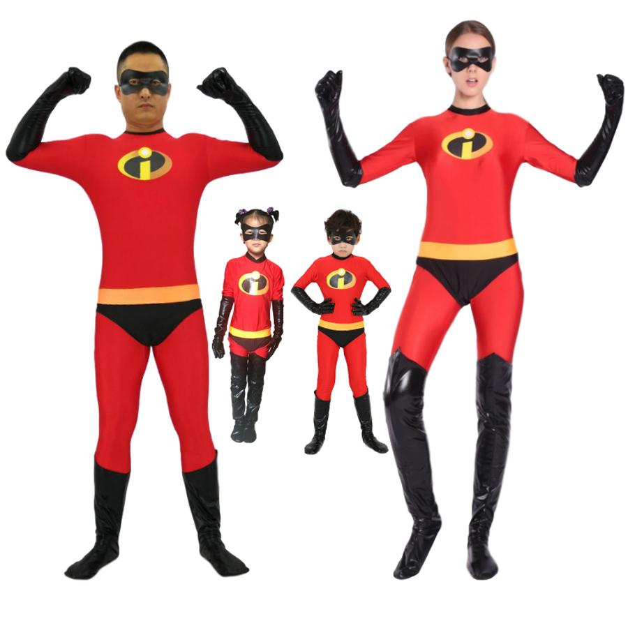 New The Incredibles 2 Elastigirl Helen Parr Cosplay Costume Halloween Full Suit Ebay
