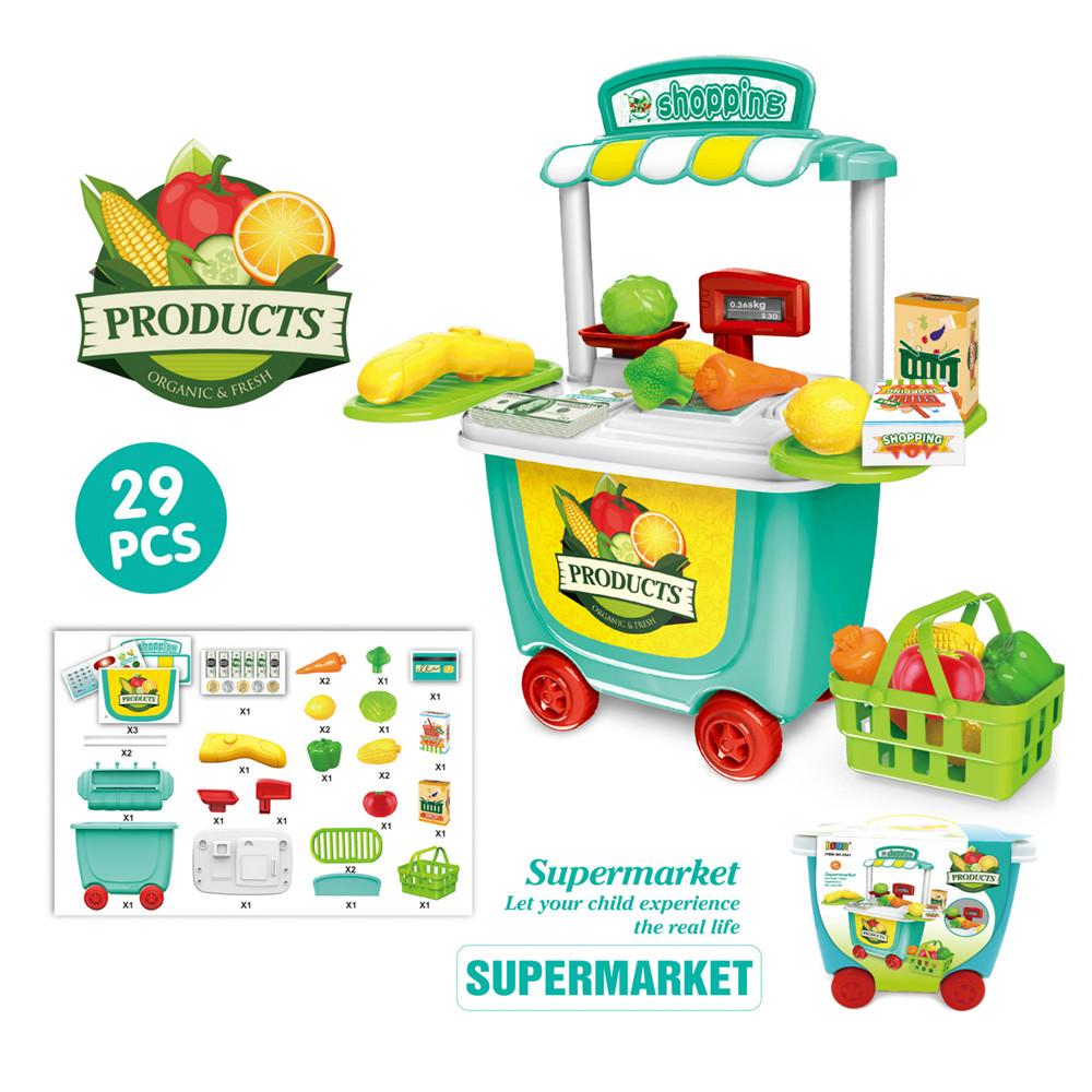 Kids Child Pretend Role Play Kitchen Supermarket Ice Cream Shop ...