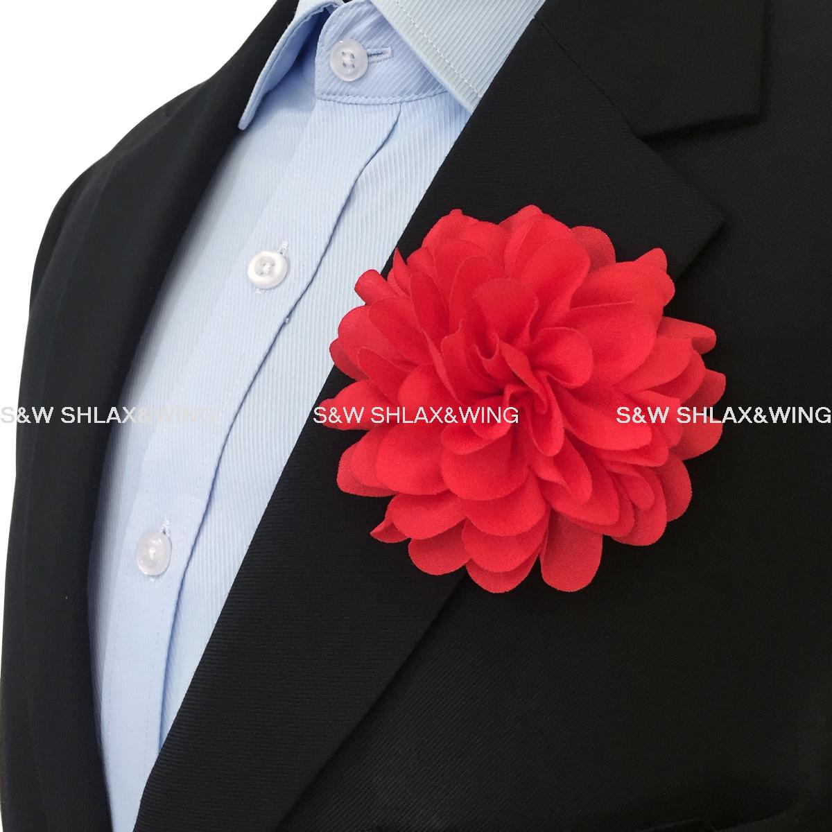 Silk blend lapel flowers handmade boutonniere stick pin mens silk blend lapel flowers handmade boutonniere stick pin mens accessories mightylinksfo