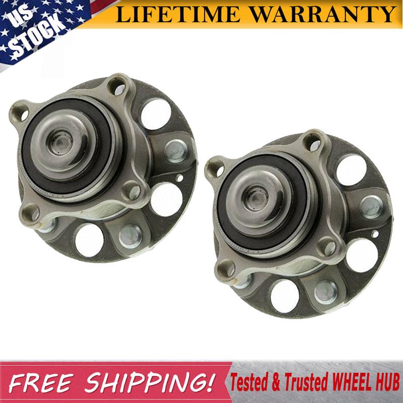 Rear Pair Wheel Hub Bearing Assembly Fits 09-14 Acura TSX