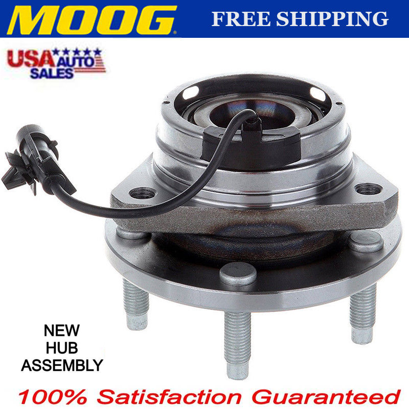 Moog New Front Wheel Hub Bearing Assembly 5 Lugs With Abs 513214 Ebay