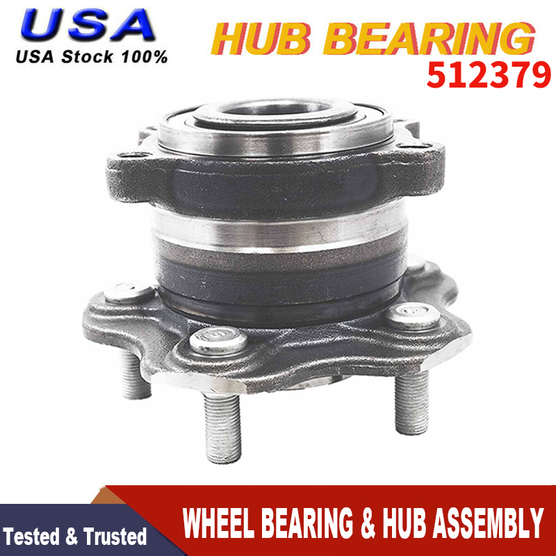 Pair Rear Wheel Hub Bearing for 2009 2010 2011 2012 Infiniti FX35 ALL TYPES 2