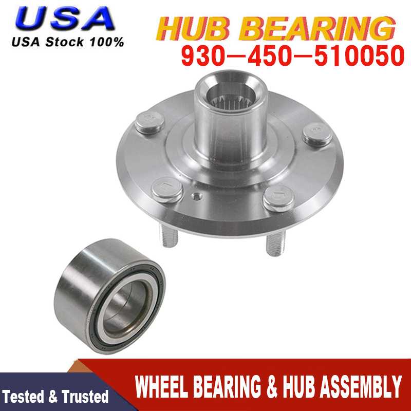 FRONT WHEEL HUB &BEARING FOR 1998-2002 HONDA ACCORD V6