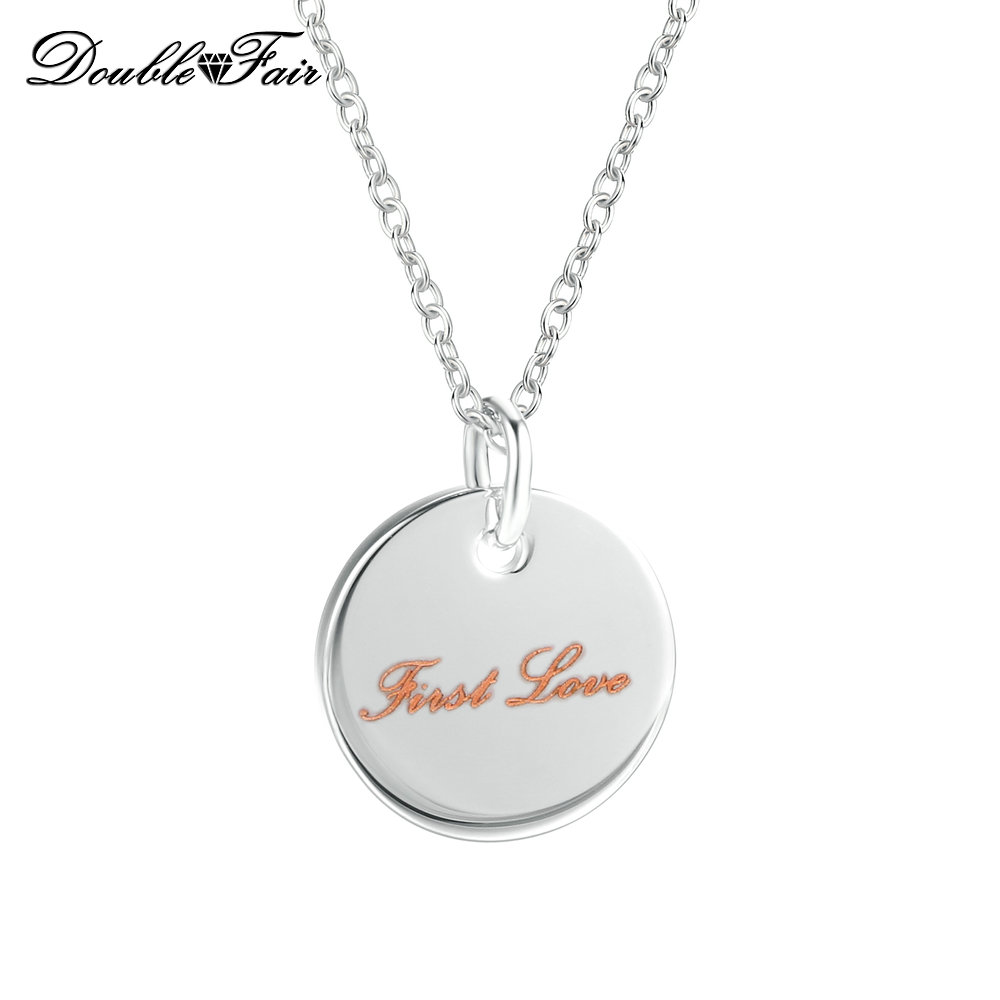 Women Elegant Home Europe and The United States Round Long Pendant Diamond Necklace s925 Sterling Silver Sweater Chain Home & Kitchen