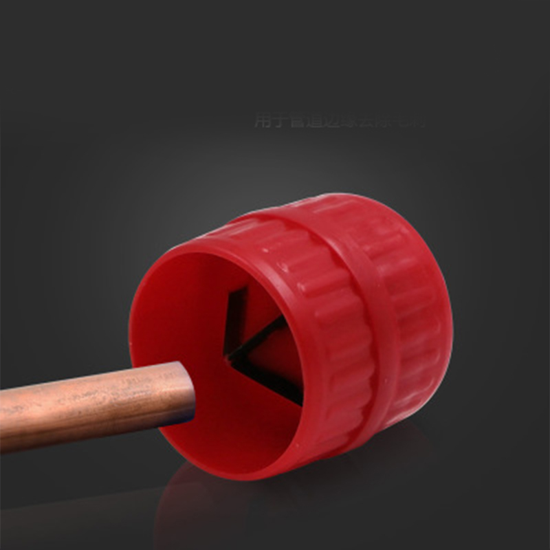 PVC Copper Tubes Deburring Tool Accessories Manual Inside Pipe Reamer Outsi J7P9