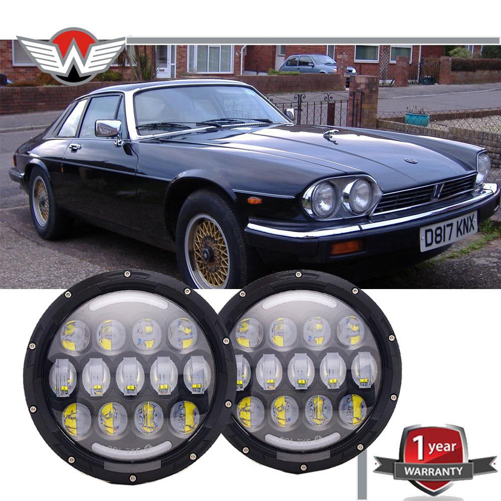 Dot 7inch Led Sealed Beam Headlights Hi Lo For Jaguar Xj6 Xjs 1970 Art Mazda B2000