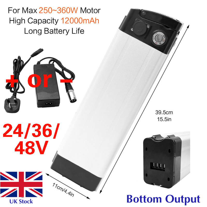 48V//36V//24V Li-ion Lithium Battery Pack Rechargeable Electric bicycle ebike