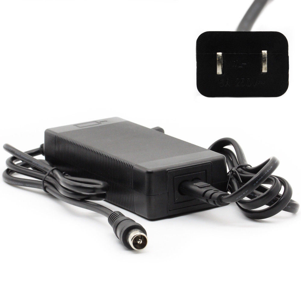 42V 2A Lotus Head Power Charger for 36V Lithium Battery Electric Bicycles
