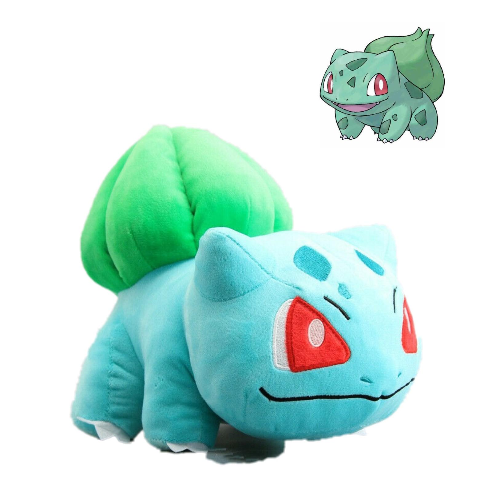 30cm Big Pokemon Bulbasaur Plush Toy Soft Stuffed Animal Doll Teddy Xmas Gift UK