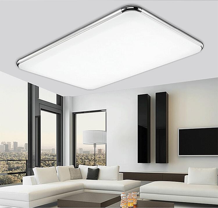 Led Light Fixture For Utility Room: 93X65cm LED Ceiling Fixtures Light Bedroom Living Room