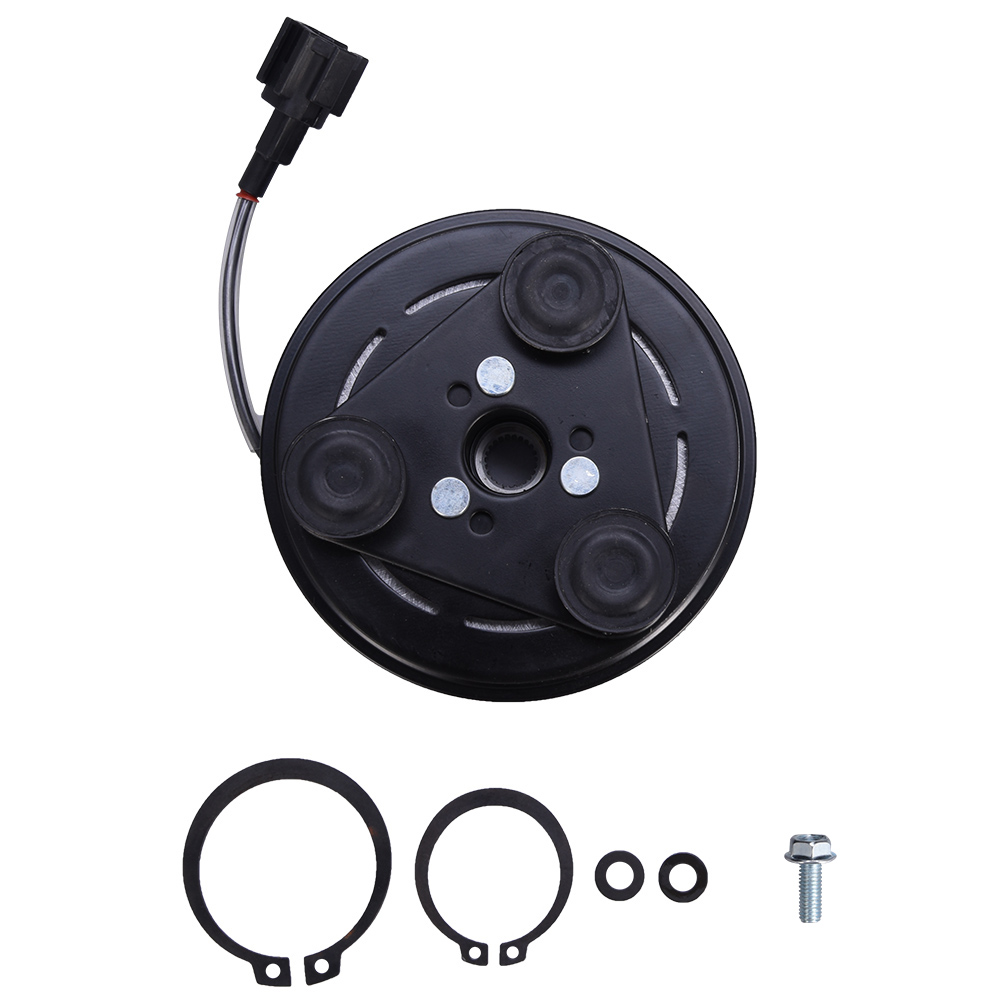 Younar A//C AC Compressor Clutch Repair Kit Coil Pulley 638779 5512329 CO 10863JC for Nissan Versa Cube 2007-11 1.8L /& 1.6L 2011281 10000649