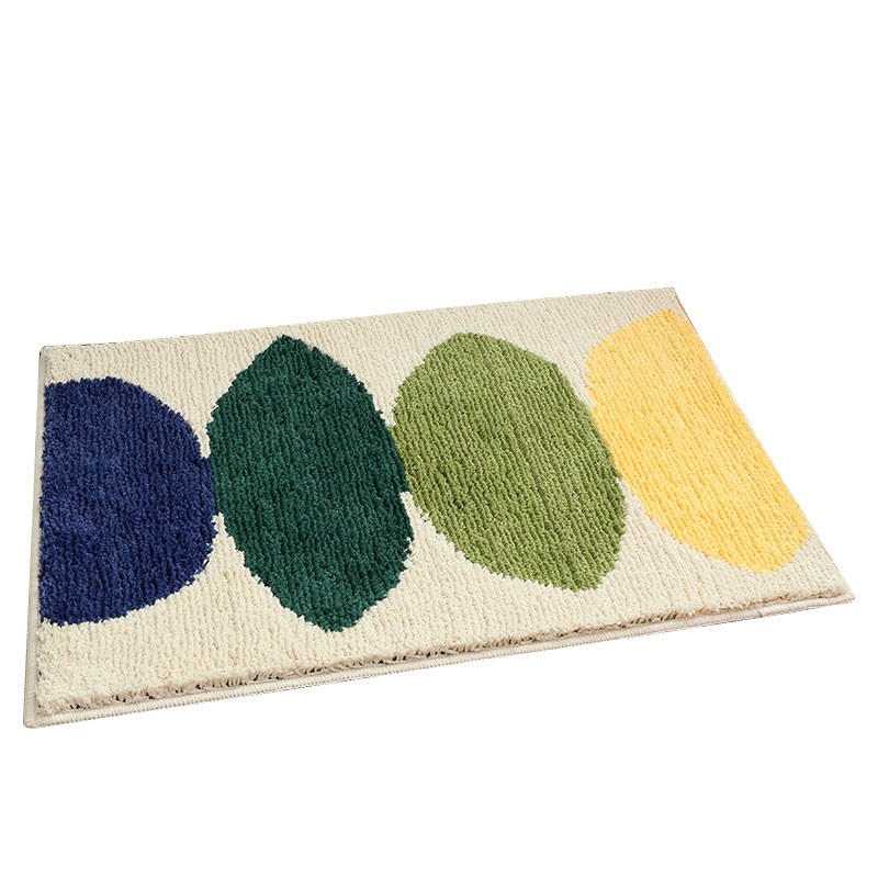 Lemon-Washable-Mat-Bedroom-Kitchen-Floor-Pad-Non-slip-Bath-Rug-Mat-Door-Carpet